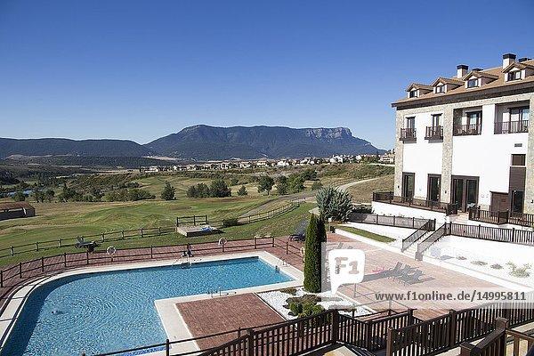 Resort and golf course in Badaguas Huesca Spain.