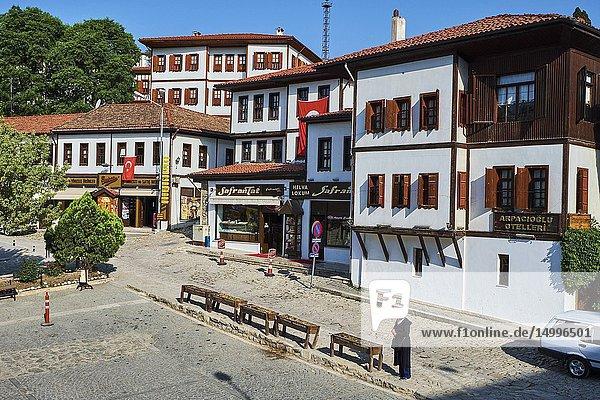 Turkey  Safranbolu  old Ottoman town houses  Unesco world heritage.