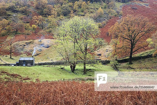 Alisongrass Hoghouse near Stonetwaite in the Lake District National Park.