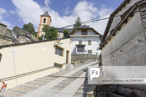 Canejan village Aran valley Lleida Catalonia Spain.