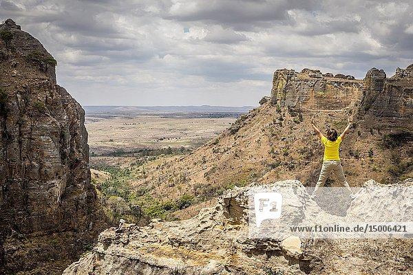 Isalo National Park  Ihorombe Region  Southwest Madagascar  Africa.