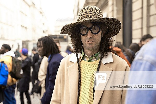 Street Style - Paris Fashion Week Womenswear Fall/Winter 2019/2020  designer guest seen outside Elie Saab  Day six  March 2  2019.