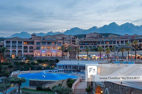 Holiday village Pierre et Vacances at the Cap Esterel  Saint-Raphael  Var  Provence-Alpes-Cote d`Azur  France  Europe.
