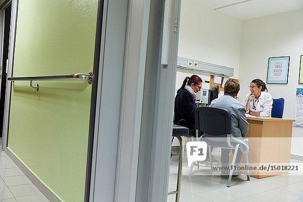 Medical consultation  Hematology  Hospital Donostia  San Sebastian  Gipuzkoa  Basque Country  Spain