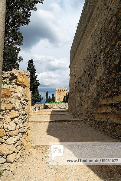Roman walls. Tarragona  Catalonia  Spain.