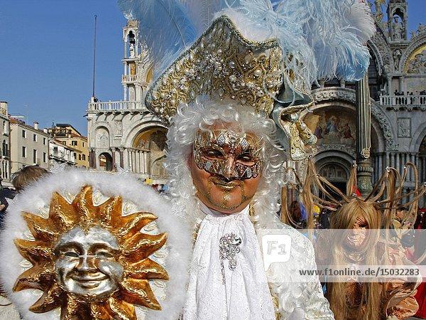Carnival in Venice  Italy.