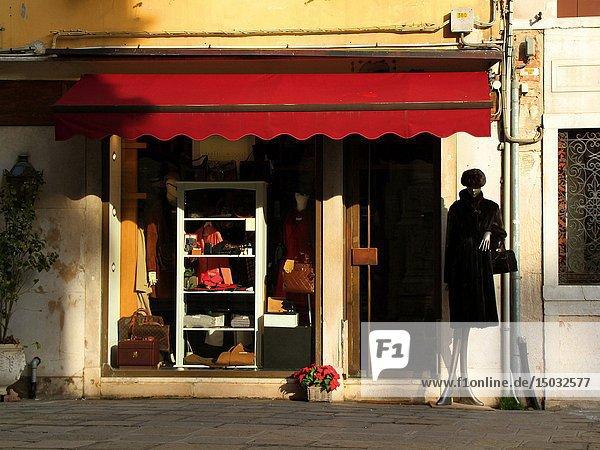 Lovely shop in Venice  Italy  Eu.