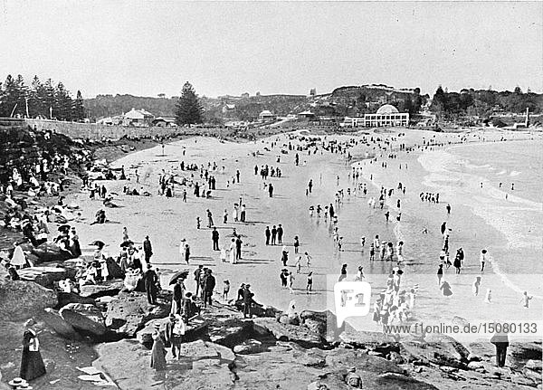 'Holiday Time  Coogee Bay  c1900. Creator: Unknown.