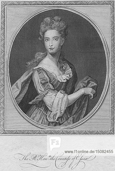 'The Right Honourable the Countess of Essex'  1787. Creator: Unknown.