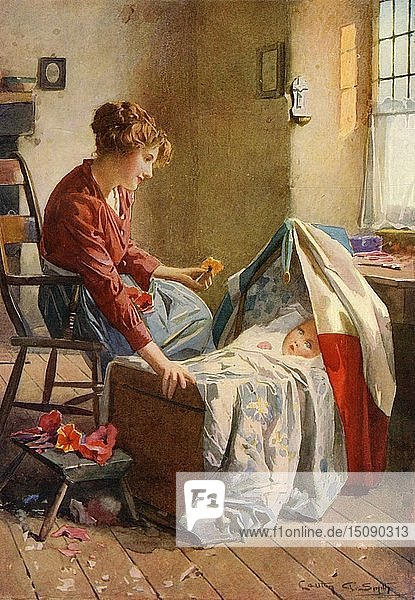 'Fleur-de-Lis'  1914. Creator: Carlton Alfred Smith.