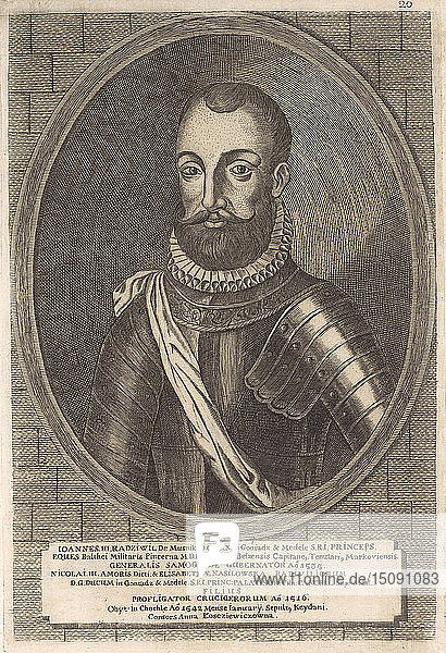 Jan III Radziwill (1492-1542). From: Icones Familiae Ducalis Radivilianae  1758.