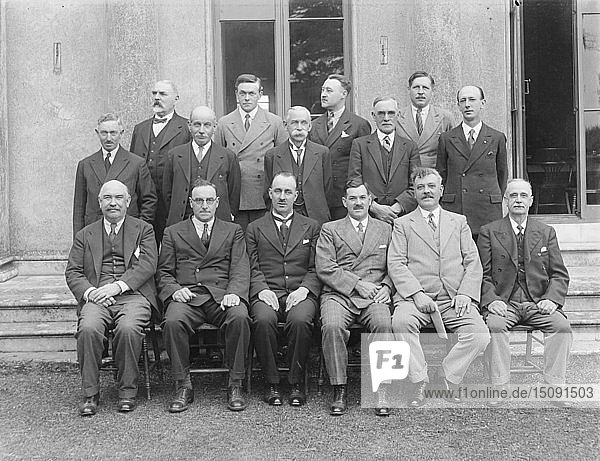 Group portrait  c1935. Creator: Kirk & Sons of Cowes.
