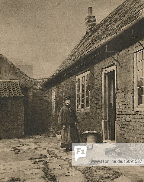 'Poplar Almshouses Founded In The Seventeenth Century'  1926  (c1935). Creator: W Whiffin.
