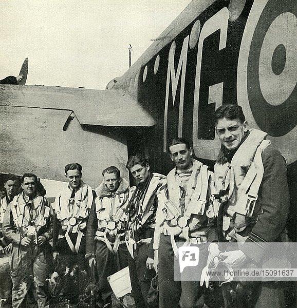 'Bomber Crews'  c1943. Creator: Cecil Beaton.