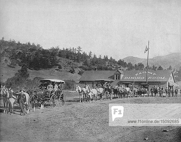 'Pike's Peak (Col.) Toll Road',  c1897. Creator: Unknown.