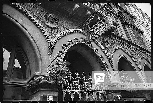 Library  Museum and Art Gallery  Broad Street  Hereford  Herefordshire  c1955-c1980. Creator: Ursula Clark.