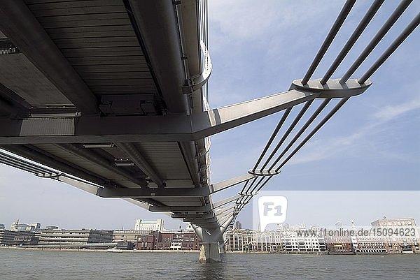 Millennium Bridge  2005. Creator: Ethel Davies.
