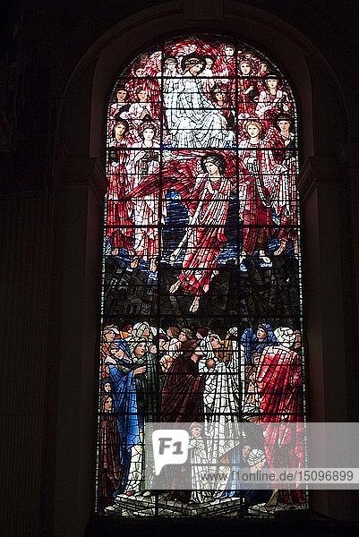 Birmingham St Philip's Cathedral  B'ham  2009. Creator: Ethel Davies.