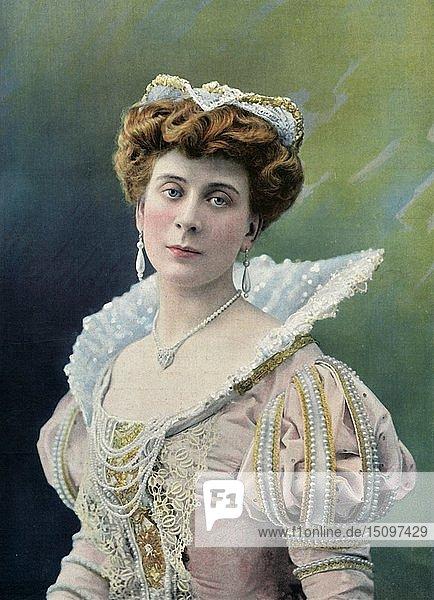 'Theatre National De L'Odeon. - Mlle. Sylvie - Role de Charlotte. - Le Roi Galant'  1904. Creator: Unknown.