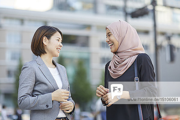 Japanese and South-east Asian businesswomen