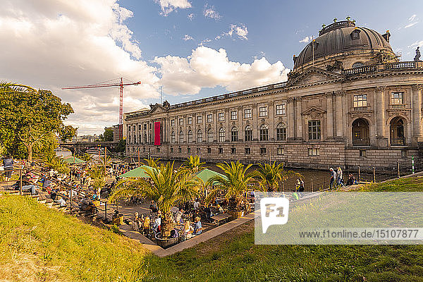 Germany  Berlin  view to Bode Museum