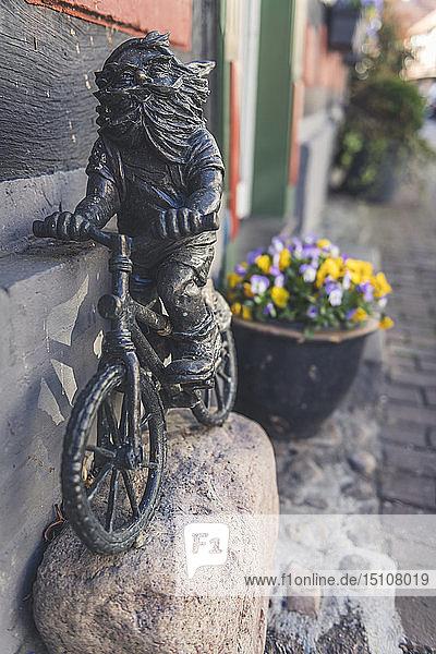 Dwarf sculpture,  Hitzacker,  Lower Saxony,  Germany