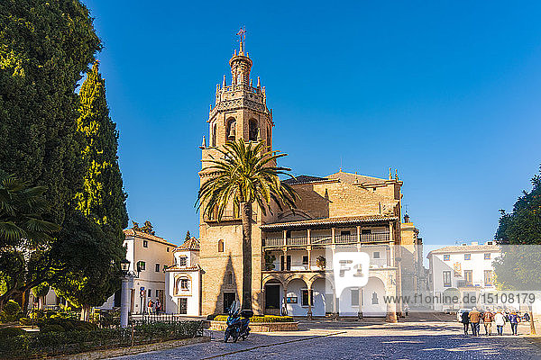 Spain  Andalusia  Province Malaga  Ronda  Santa Maria la Mayor