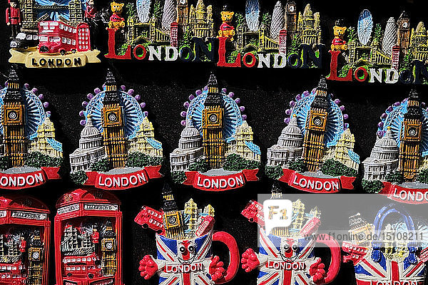 UK  London  Camden Town  souvenirs