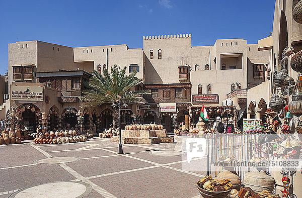 Souk  Töpfermarkt  Nizwa  Oman