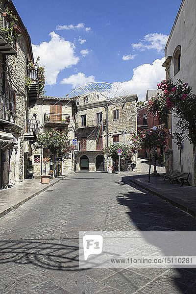 Italien  Sizilien  Petralia Soprana  Altstadt