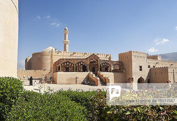 Qaboos Moschee und Souvenirladen  Nizwa  Oman