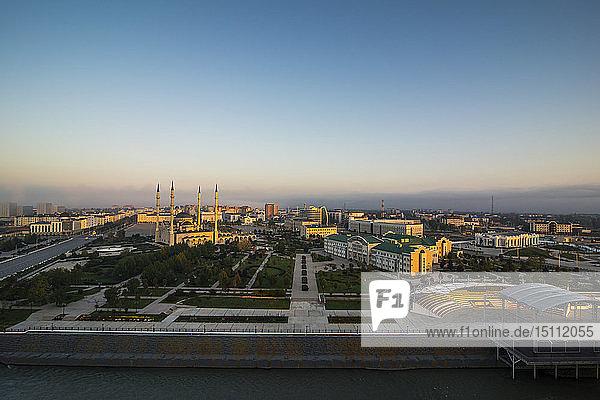 Überblick über Grosny   Grosny  Tschetschenien