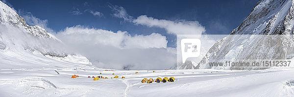 Nepal,  Solo Khumbu,  Everest,  Camp at Western Cwm