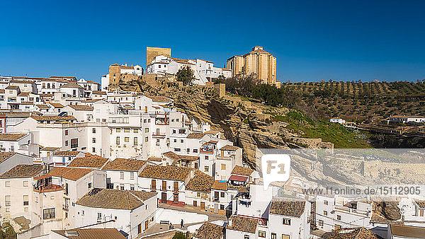 Spanien  Andalusien  Provinz Cádiz  Setenil de las Bodegas