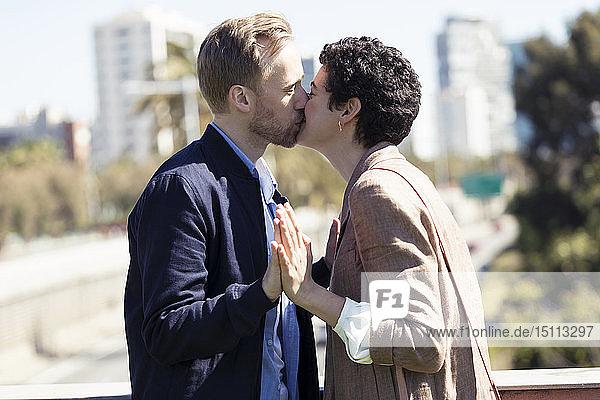 Küssen zu zweit