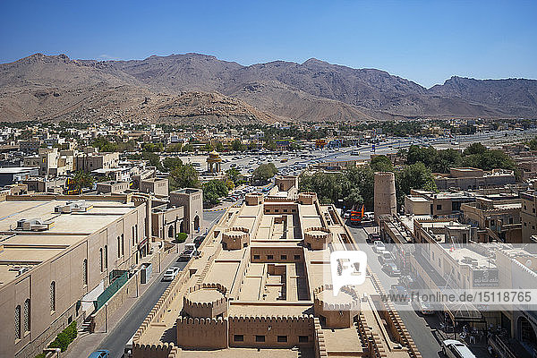 View of old town  Nizwa  Oman