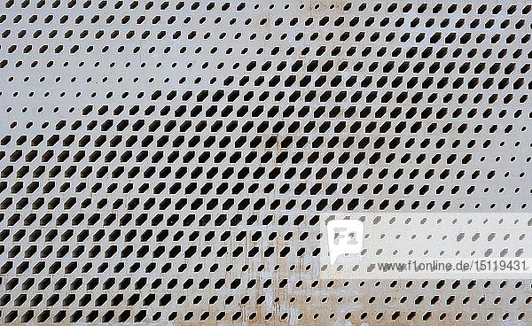Detail einer Hausfassade  Matrah  Muscat  Oman