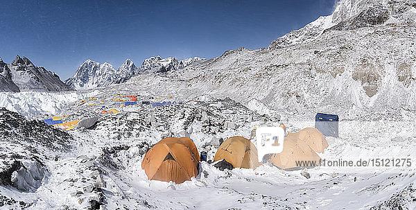 Nepal  Solo Khumbu  Everest Basislager