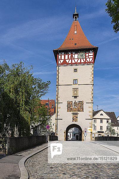 Stadttor  Waiblingen  Deutschland