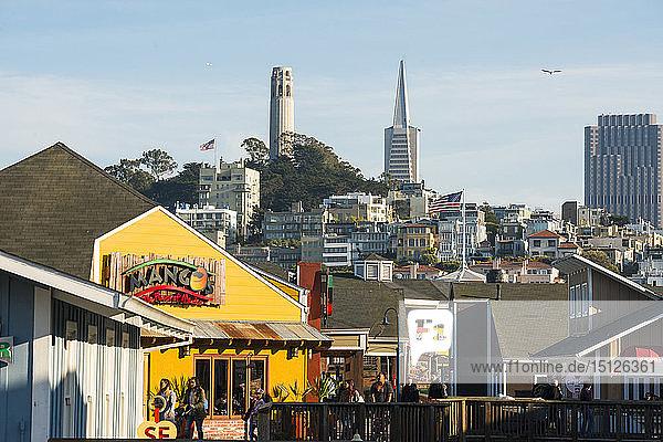 Pier 39  San Francisco  California  United States of America  North America