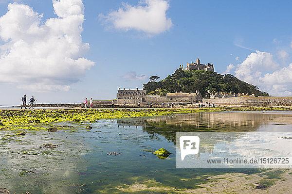 St. Michaels Mount  Marazion  Cornwall  England  United Kingdom  Europe