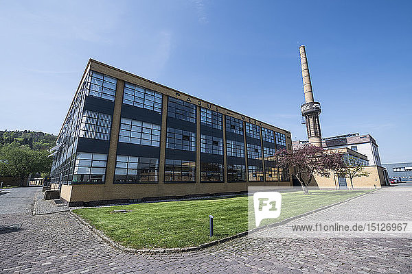 The shoe last factory  Fagus Factory  UNESCO World Heritage Site  Lower Saxony  Germany  Europe