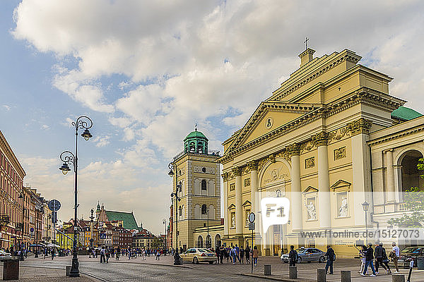 St. Anne's Church in the Old Town  UNESCO World Heritage Site  Warsaw  Poland  Europe