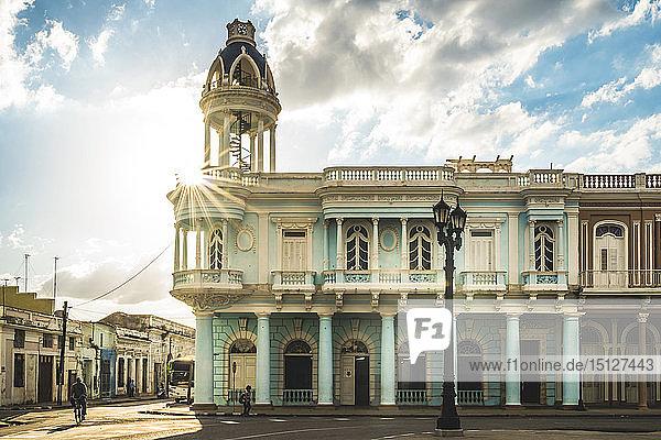 Casa de Cultura in the Palacio Ferrer  Plaza Jose Marti  Cienfuegos  UNESCO World Heritage Site  Cuba  West Indies  Caribbean  Central America