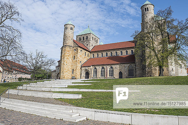 St. Michael's Church  UNESCO World Heritage Site  Hildesheim  Lower Saxony  Germany  Europe