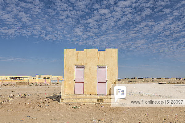 Tradtional house  Sahel  Chad  Africa