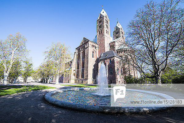 Speyer Cathedral  UNESCO World Heritage Site  Speyer  Rhineland-Palatinate  Germany  Europe