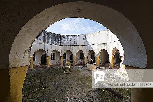 Bordj Tamentfoust Ottoman fort  Algiers  Algeria  North Africa  Africa