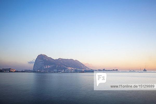 View of Rock of Gibraltar  Gibraltar  Europe
