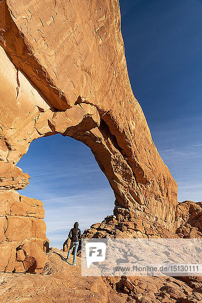 Windows Arches  Arches National Park  Moab  Utah  United States of America  North America